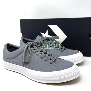 Converse One Star Canvas Mason Grey Men's Sneakers